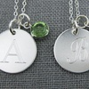 Up to 62% Off a Necklace with Personalized Charm