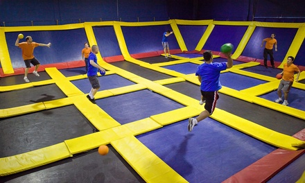 Two Hours of Trampoline Jump Time on Weekdays or Weekends at Sky High Sports in Mira Loma (Up to 53% Off)