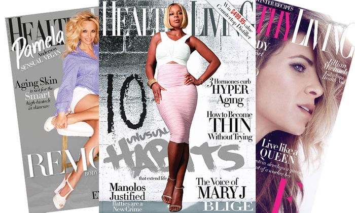 """Blue Dolphin Magazines: $6 for a One-Year, 12-Issue Subscription to """"Healthy Living"""" Magazine ($12 Value)"""