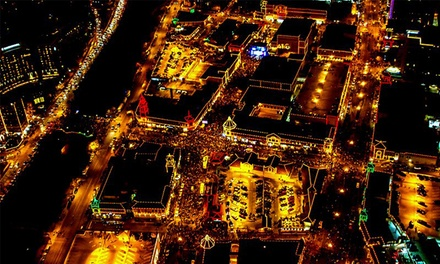 $289 for a Holiday Plaza Lights Helicopter Tour from KC Copters, A Johnny Rowlands Company ($575 Value)