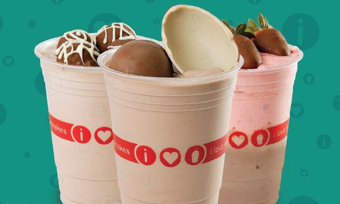 I Love Milkshakes - West Everett: $16.50 for Three Groupons, Each Good for $10 Worth of Frozen Yogurt and Ice Cream at I Love Milkshakes ($30 Total Value)