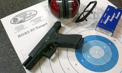 image for Shooting-Range Package for Two with Ammo at Range, Guns & Safes (57% Off)