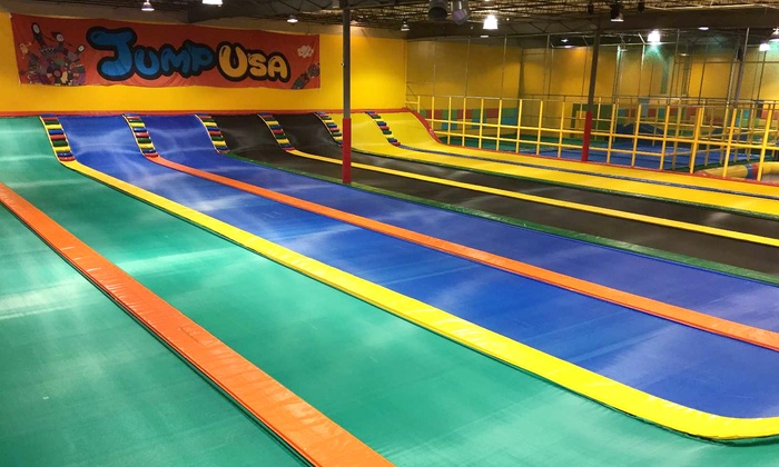 Jump USA - North Lamar: Jumping Sessions or Birthday Party Package for 10 at Jump USA (Up to 60% Off)