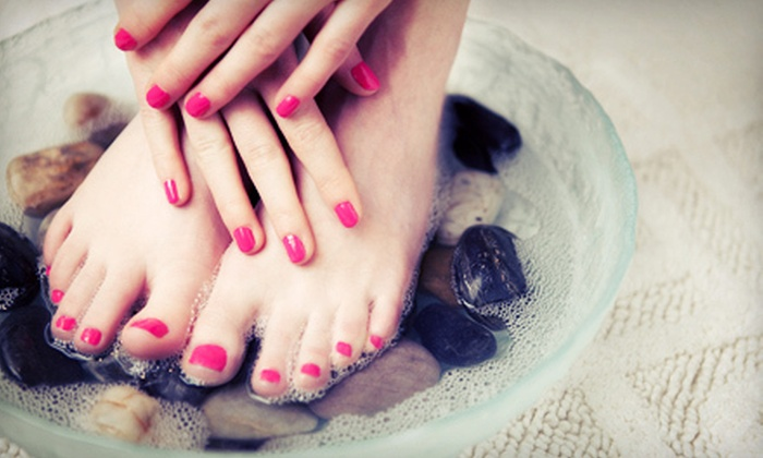 Blush A Nail Boutique - South Auburn: $19 for $45 Worth of Spa Services at Blush A Nail Boutique