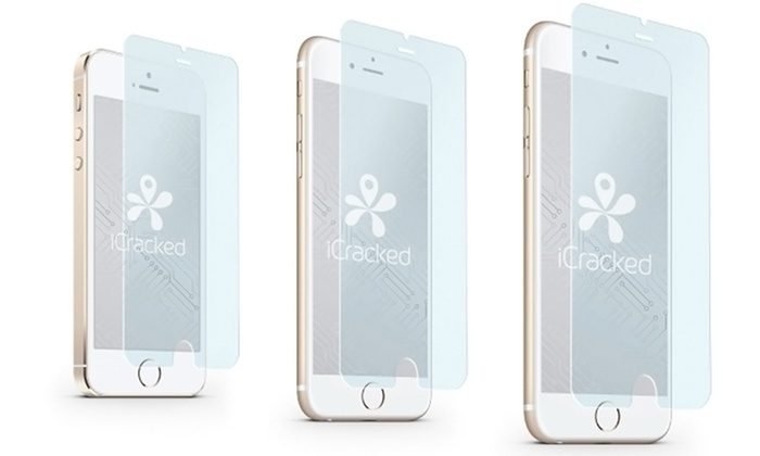iCracked Tempered Glass Screen Protectors for iPhone: One- , Two- , or Three-Pack of iCracked Tempered Glass for iPhone + Free Shipping (Up to 87% Off)