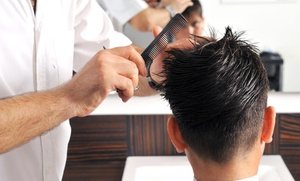V.i.p hair salon: $5 Off $25.00 Men's Haircut, Wash, Beard and Eyebrow Treatment at V.i.p hair salon
