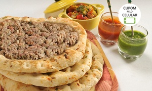 Pizzaria Violeta: Pizzaria Violeta – Santana: 10, 20 ou 30 esfirras de carne e queijo (retirada ou delivery)