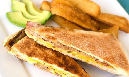 American-Caribbean Food at Kick n' Back Cafe (Up to 45% Off). Two Options Available.