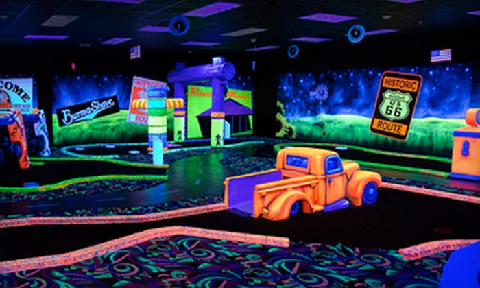 Kokomo Joe's Family Fun Center - Saint Peters: Mini Golf, Arcades, and Pizza for 4 or Birthday Party for Up to 10 at Kokomo Joe's Family Fun Center (Up to 54% Off)