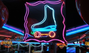 Roller Skating For Two Or Four With Rental Skates At The Rollercade (up To 57% Off)
