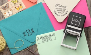 2712 Designs: Personalized Self-Inking Stamps with Shipping Included from 2712 Designs (Up to 59% Off). Four Options Available