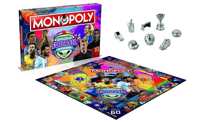 6a3e13c1b0b0 Monopoly Football Stars Edition   Groupon Goods