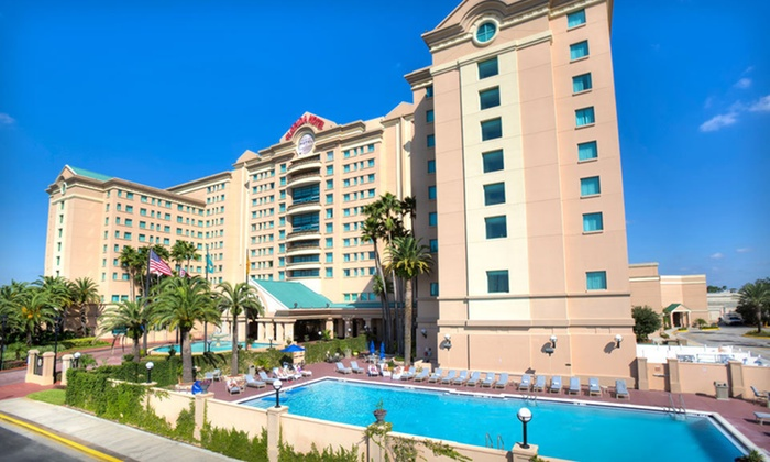The Florida Hotel and Conference Center - Florida Mall: Two- or Five-Night Stay with Daily Valet Parking at The Florida Hotel and Conference Center in Orlando, FL