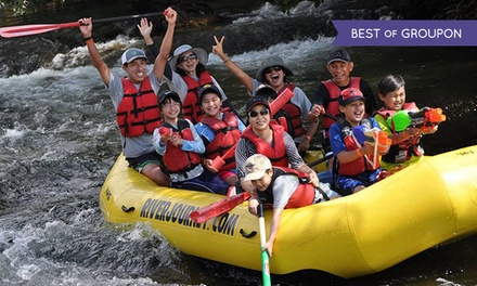 Self-Guided Rafting for Up to Six or Tandem Kayak Trip for Two from River Journey Adventures (Up to 51% Off)