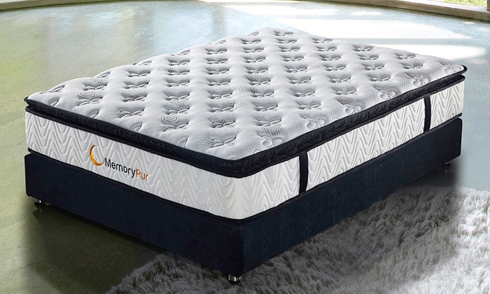 matelas latex m moire de forme groupon shopping. Black Bedroom Furniture Sets. Home Design Ideas