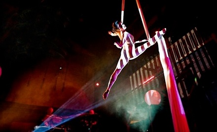 Beginners Aerial Silks Class with Lifetime Membership Fee at Emerald City Trapeze Arts (Up to 51% Off). Two Options.