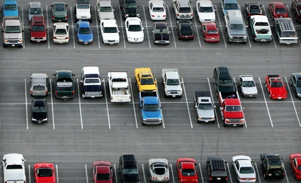 12 Hours, 24 Hours, or One Month of Parking with Surface Lot or Garage Options at Skyport Facility (Up to 53% Off)