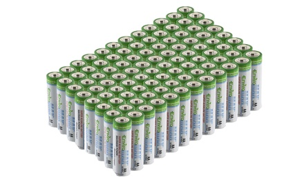 Fuji EnviroMAX Super Alkaline AA Batteries (96-Pack)