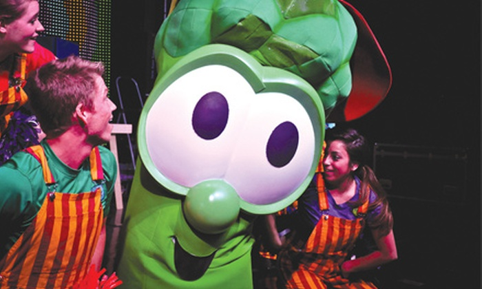"""""""VeggieTales Live!"""" - Family Arena: """"VeggieTales Live!"""" at Family Arena on Friday, October 18, at 6:30 p.m. (Up to 51% Off)"""