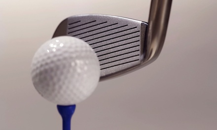 $36 for 18 Holes of Simulated Golf for Two People at Rod's Golf Improvement Center ($60 Value)