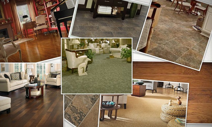 Christian Flooring - Multiple Locations: Carpet or Vinyl Remnants or an Area Rug at Christian Flooring (50% Off)