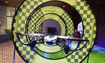 1 séance d'initiation de 30 minutes au pilotage de drone à 9,90 € avec Drone Indoor