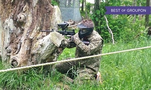 Indy Acres Paintball: All-Day Paintball Outing with CO2, Marker, & Mask for Four, Six, or Eight at Indy Acres Paintball (Up to 42% Off)