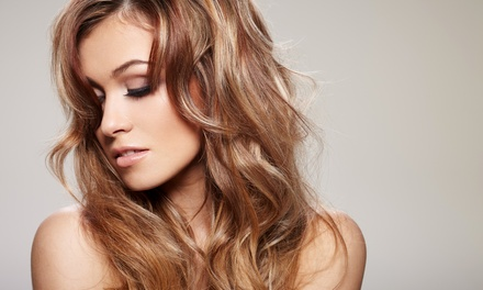 One or Two Haircuts with Deep-Conditioning Treatments and Styles at Red Stone Spa & Salon (Up to 54% Off)
