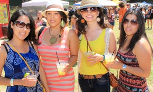 Tequila and Taco Music Festival's Mas Margaritas: $30 for Admission for Two to Tequila and Taco Music Festival's Mas Margaritas on July 19 ($60 Value)
