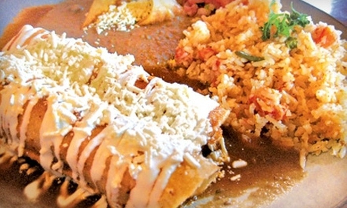 La Bamba Cafe & Lounge - River - Osborne: Mexican Dinner and Drinks at La Bamba Cafe & Lounge (Half Off). Two Options Available.