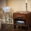 Glendora Single-Drawer Wooden End Table