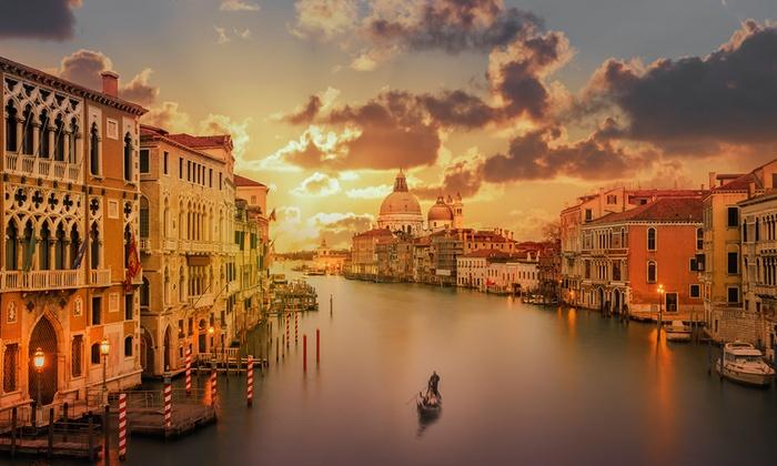 ✈ Venise  2 ou 3 nuits en hôtel 4* avec petits djeuners et vols depuis Paris