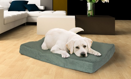 Deep-Dish Memory-Foam Pet Mattress from $18.99–$44.99
