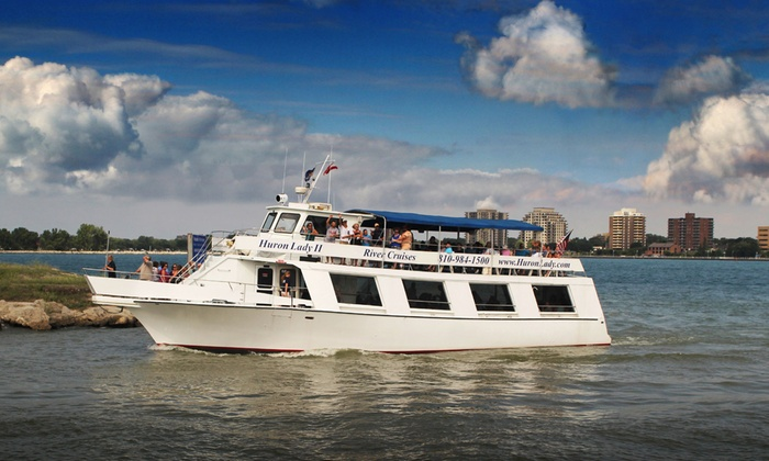 Huron Lady II - Huron Lady II: Public Sightseeing Cruise for Two, Four, or Six from Huron Lady II (Up to 51% Off)