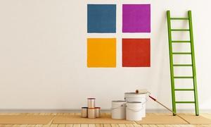 Edilsud Carpentieri: Imbiancatura pareti e soffitto fino a 200 m² e 4 pareti colorate (sconto fino a 89%)