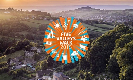 Five Valleys Walk: Adult (£5), Child (£2.50) or Family (£12.50) Tickets, Sunday 27 September (Up to 50% Off)