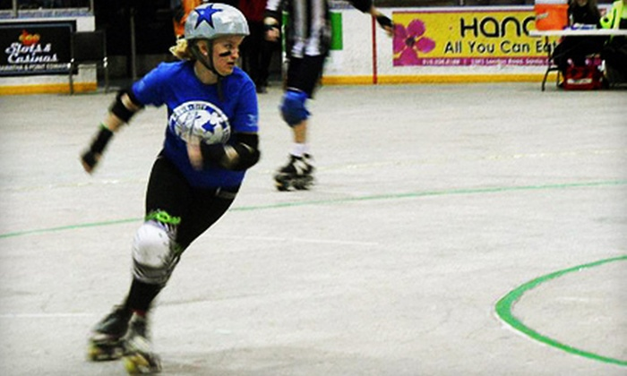 Border City Brawlers - Adie Knox Arena: Border City Brawlers Roller-Derby Home Game for Two or Four at Adie Knox Arena (Half Off)