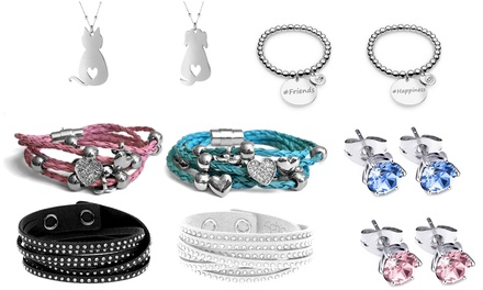 Jewellery Range: Bracelet, Necklace or Earrings
