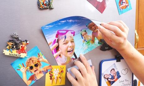 Imanes con foto personalizada en formato a elegir con Colorland (hasta 87% de descuento)