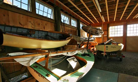 90-Minute or Three-Hour Private Sail for Six or Group Sail for One at Cape Cod Maritime Museum (Up to 42% Off)