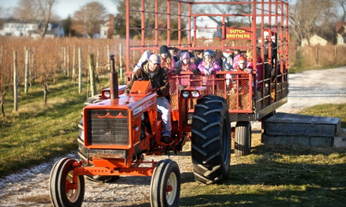 Westport Rivers Vineyard and Winery - Westport Rivers Vineyard and Winery: Vineyard Hayride with Take-Home Gifts for Two or Four at Westport Rivers Vineyard and Winery (Up to 55% Off)