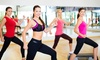 Ginger Jive - Multiple Locations: Four Ballroom and Latin Fitness Classes at Ginger Jive (58% Off)
