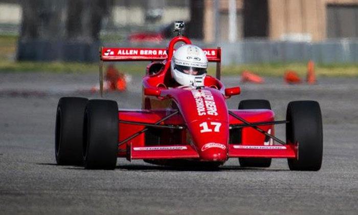 Allen Berg Racing School - Auto Club Speedway: $199 for a 20-Lap Adventure Program at Allen Berg Racing School ($399 Value)