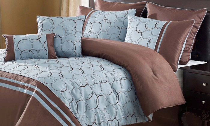 Victoria Classics 8-Piece Comforter Set : $74.99 for a Victoria Classics 8-Piece Comforter Set ($209.99 List Price). Multiple Styles. Free Shipping and Returns.