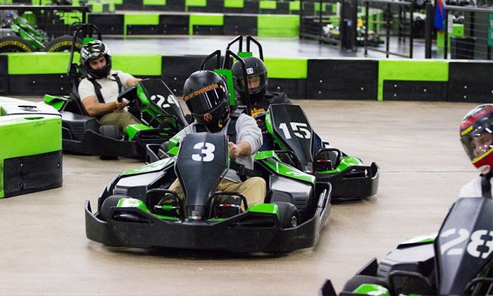 Speed Raceway - Speed Raceway: 14-Lap Indoor Go-Kart Race for Two, Four, or Six at Speed Raceway (Up to 49% Off)