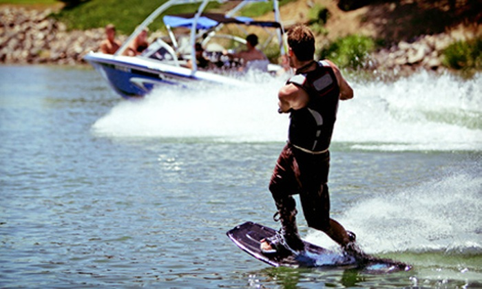 Rider Watersports - Maple Ridge: C$150 for a Four-Day Kids' Wakeboarding Summer Camp from Rider Watersports (C$300 Value)