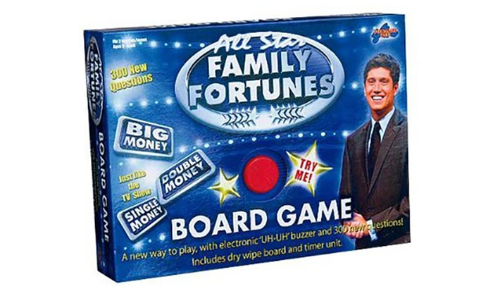 Drumond Park All Star Family Fortunes Board Game