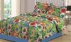 Floral Printed Quilt Set (3-Piece): Floral Printed Quilt Set (3-Piece)