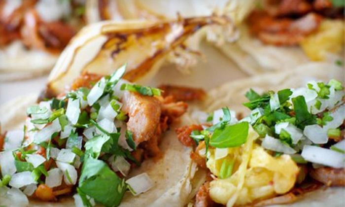Lucia's La Taquera - Ott-Chrisman: $10 for $20 Worth of Mexican Food and Drinks at Lucia's La Taquera