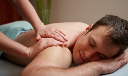55-Minute Four-Hand Massage for One or Swedish Massage for Two at Jimenez Chiropractic-Med Spa (Up to 62% Off)